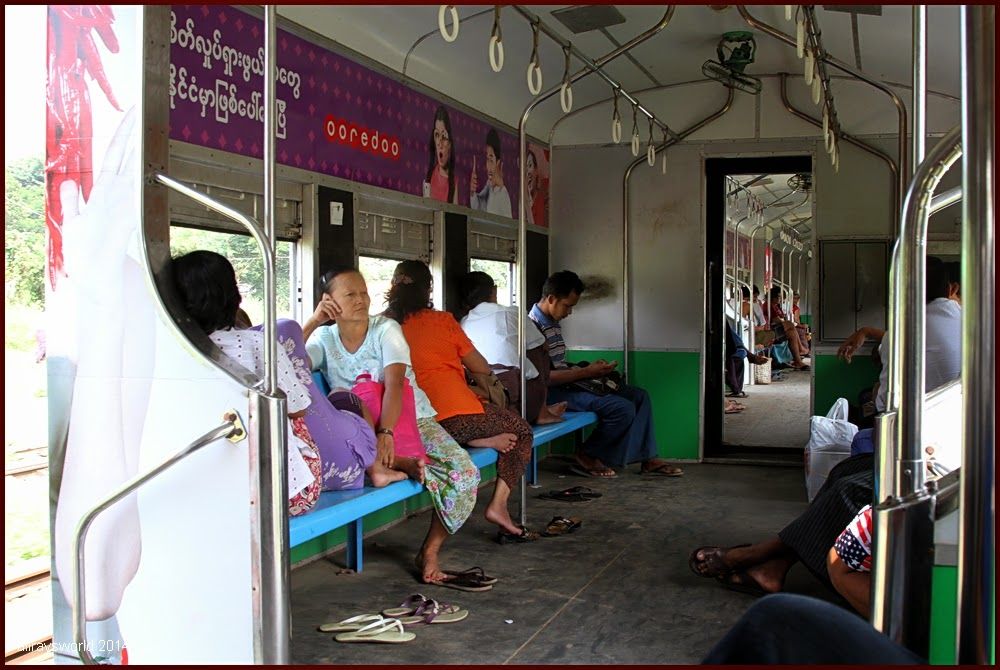photoblog image Yangon Circle Train #16