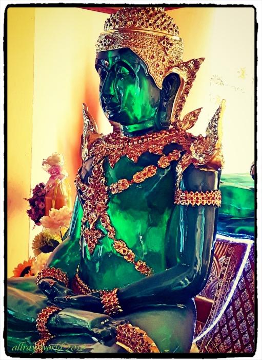photoblog image Green Glass Buddha